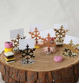 Snowflake Card Holders Set/4