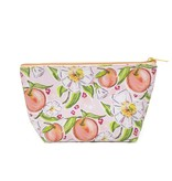 Peaches in Bloom Zip Pouch