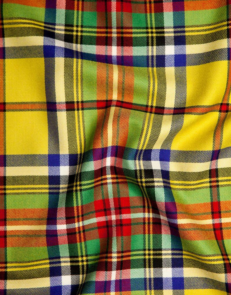 "SMW Home Meacham Tartan 100% milled wool in Scotland 55"" wide"