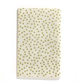 """Handmade Notebook Gold Dots 5""""x 8"""""""