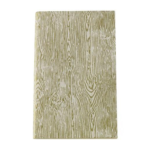"Handmade Notebook Faux Bois 5""x 8"""
