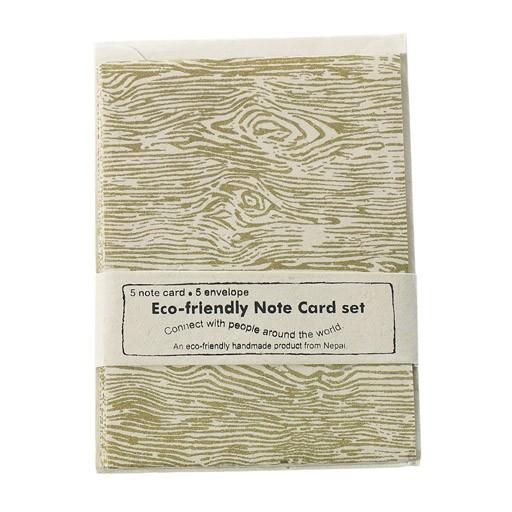 Handmade Cards Faux Bois Set/5