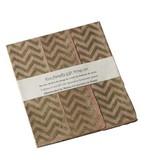 """Gift Wrap Pink Chevron 3 Sheets 20""""x30"""""""