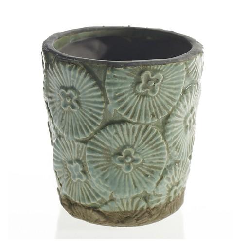 Blue Aloha Pot