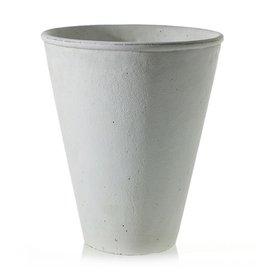 "La Vista Vase White 9.25"" x 11"""