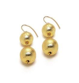 Hazen Jewelry Dee Earrings Gold