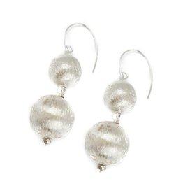Hazen Jewelry Dee Earrings Silver
