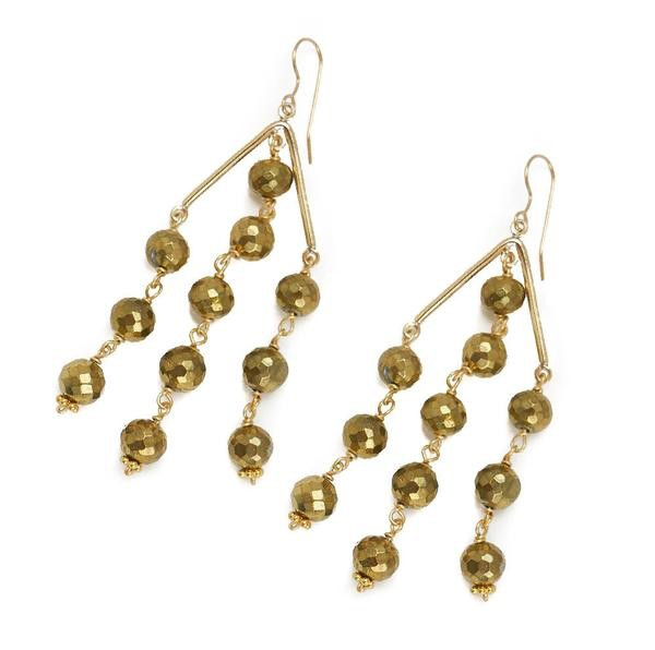 Hazen Jewelry Sutton Earrings Gold