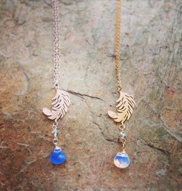Necklaces Tabitha Feather Necklace