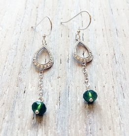 Earrings Denna Luxurious Droplet Earrings
