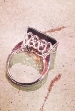 Rings Matilda Very large smoky quartz
