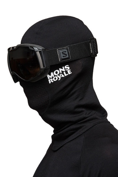 Mons Royale Tech Balaclava Black