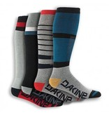Dakine Mens Freeride Socks Assorted, Set of 4 Socks