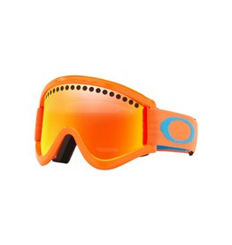 Oakley Oakley E-Frame Neon Orange w/Fire Irid Goggle