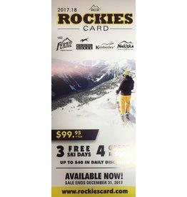 RCR  Rockies Card