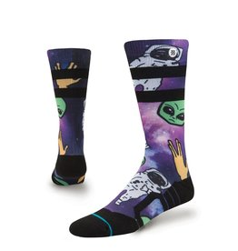 Instance Instance Space Out Purple Socks