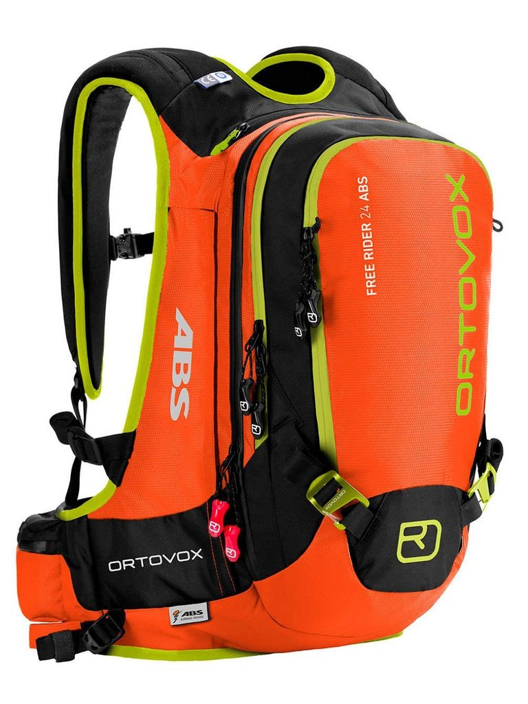 Ortovox Freerider 24 Abs Avalanche Bag Canister Mass Unit Included