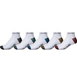 Globe Globe Ingles Ankle Socks - 5 Pack