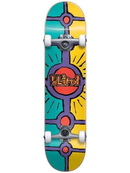 Blind Blind - Holy Grail 8.0 - First Push Youth Complete Skateboard