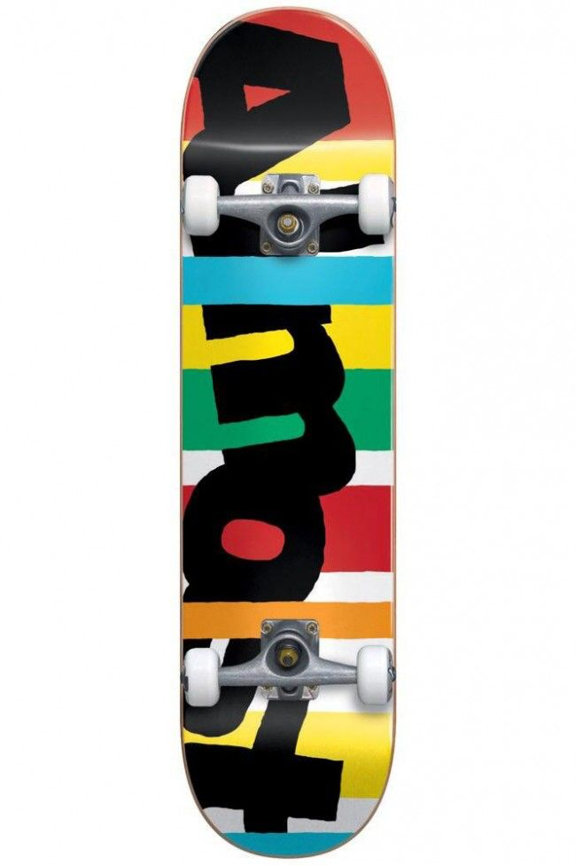 Darkstar Almost Stripe Out 7.25  First Push Complete Skateboard