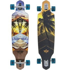 Dusters Dusters Wake Element Longboard 38""