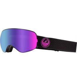 Dragon Dragon X2s Goggle - Split w/ Purple Ion + Free Lens