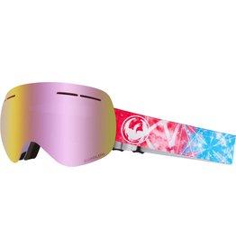 Dragon Dragon X1s Goggle - Galaxy w/Pink Ion + Free Lens