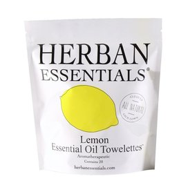 Herban Essentials SOLD OUT - Lemon Towelettes