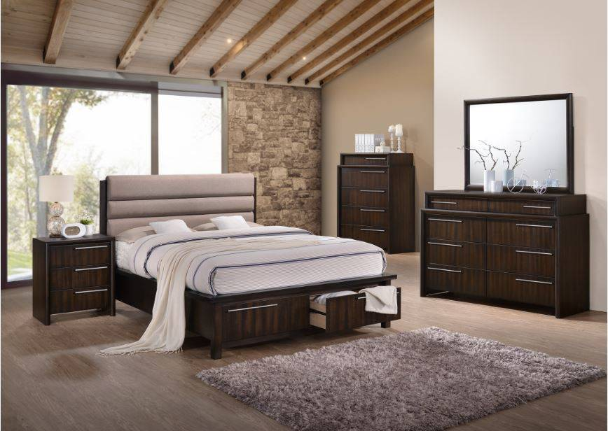 B1602 Queen Bedroom Set -Espresso