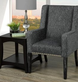 T 420 Accent Chair  Charcoal Grey