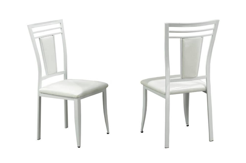 T 3013 ensemble 7mcx salle manger blanc meubles d co for Ensemble salle a manger blanc