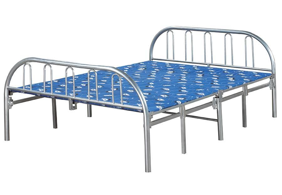 T 660 d lit pliant 54 double meubles d co d p t for Lit 54 pouces