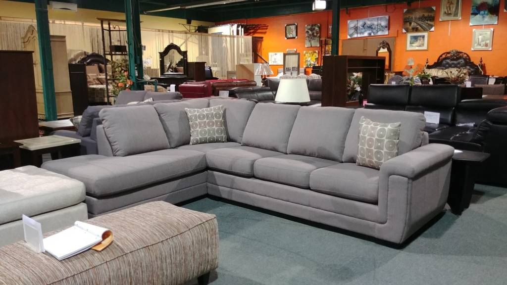9849 leon sofa sectionnel taupe meubles d co d p t