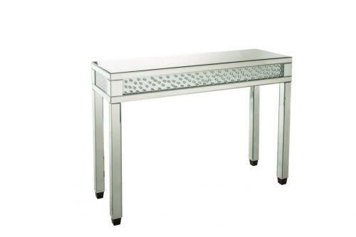 Table console miroir avec cristal meubles d co d p t for Console avec miroir