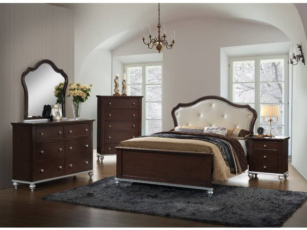 AL300 Twin Bedroom Set  Brown