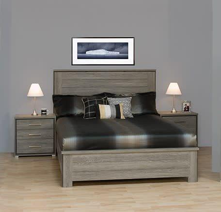 12040 t te de lit simple bois de grange meubles d co d p t. Black Bedroom Furniture Sets. Home Design Ideas
