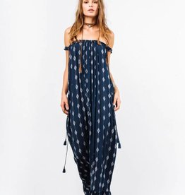 INDAH INDAH - Etta Printed Off The Shoulder Maxi