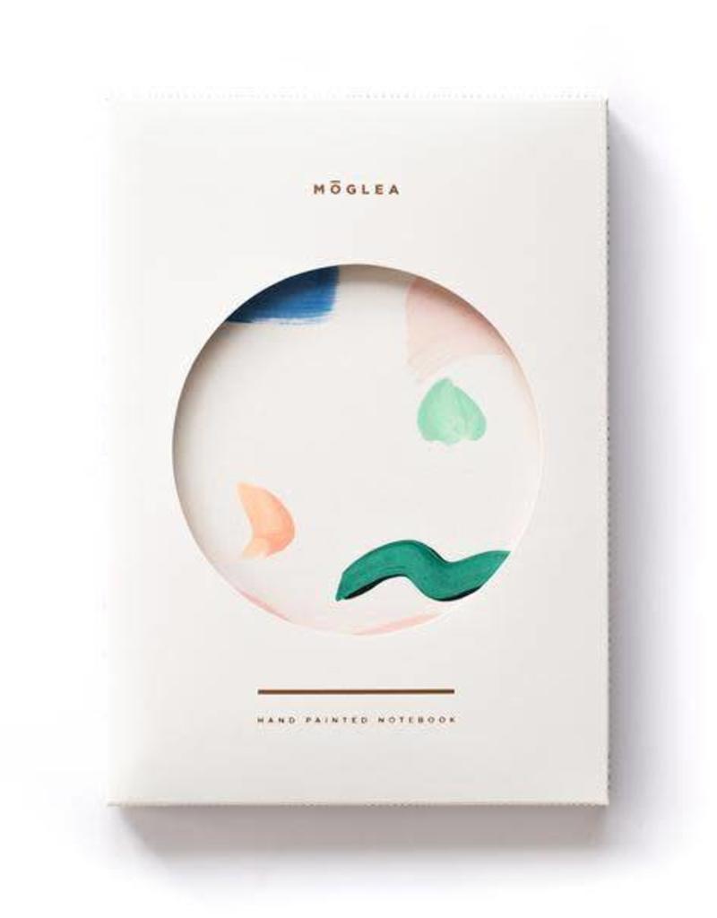Moglea Moglea - Painted Notebook Seashape