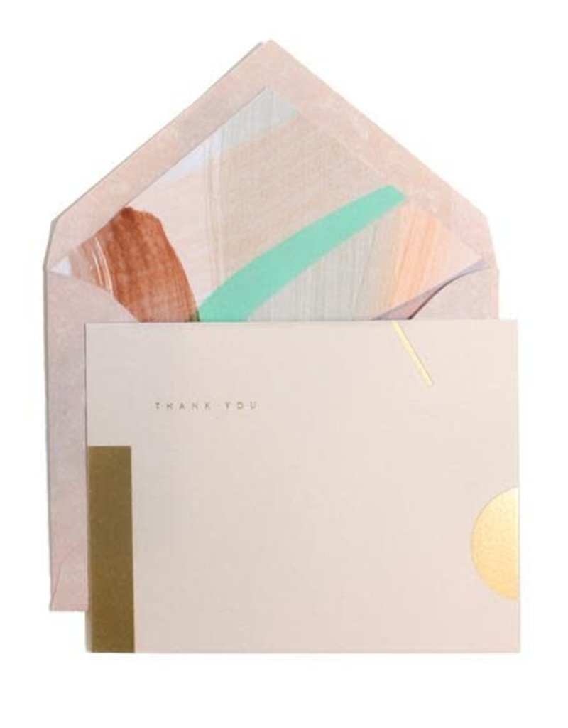 Moglea Moglea - Sorbet Painted Liner Card