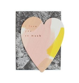 Moglea Moglea - Love & Friend Love You Heart Pink