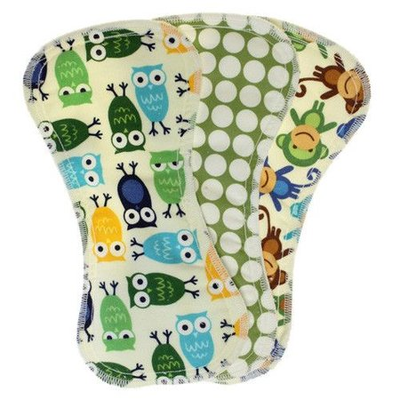 Best Bottom Diapers Feel Wet Training Pant Inserts (3 Pack)