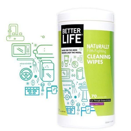 Better Life All Purpose Wipes- Clary Sage & Citrus