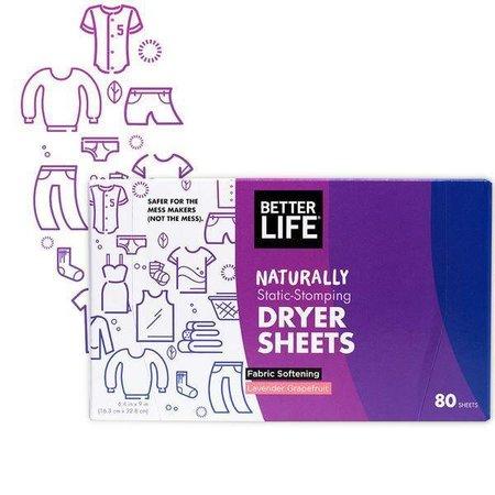 Better Life Dryer Sheets