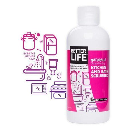 Better Life Kitchen & Bath Scrubber