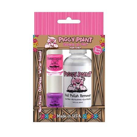 Piggy Paint Piggy Paint Gift Set (2 Polish & Remover)