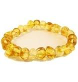 "The Amber Monkey Baltic Amber Bracelet (7-8"")"