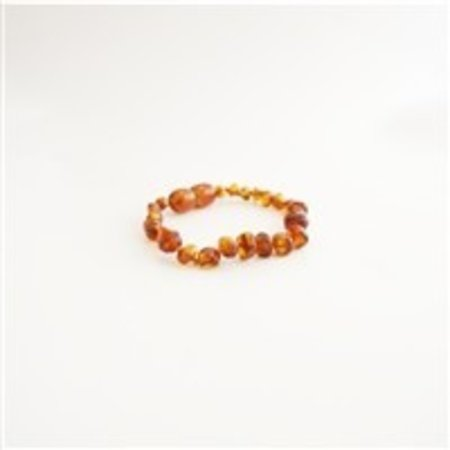 "The Amber Monkey Baltic Amber Bracelet (7-8"")"