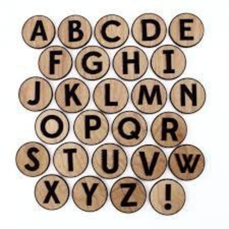Tree Hopper Toys Alphabet Magnet Set