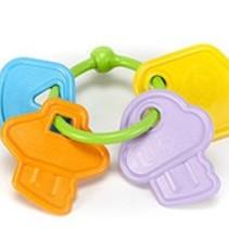 Green Toys Keys