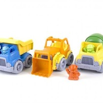 Green Toys Construction Truck 3-Pack